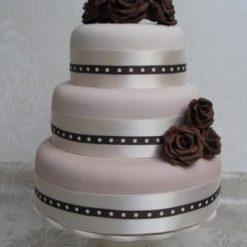 808095Three_Tier_Brown_Roses_Designer_Cake