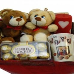 8393503002two_teddy_bear_with_chocolates_and_tea_cup_f_1499