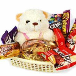 8541854642Teddy_in_basket_of_chocolates(ChocoPie_Gems_Dairy_Milk_5Star_etc)_1190