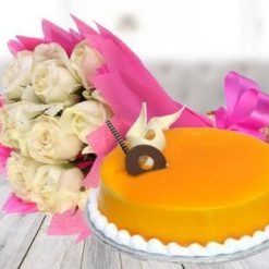 951525white_roses_with_mango_cake