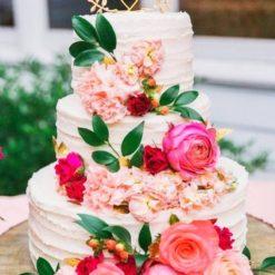 floral designer cake