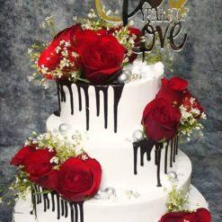 silver jublee cake